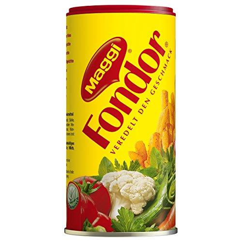 Maggi Fondor Würzmittel für Gemüse, Fleisch oder Fisch, Gewürz für Suppen oder Salate, 1er Pack (1 x 200g)