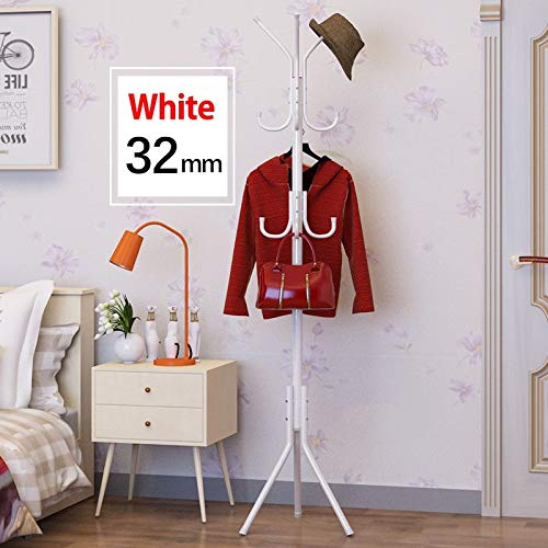 Leshared DIY montage garderobe 32 mm roestvrij staal montage kan worden verwijderd slaapkamermeubels hangende opslag kledinghangers kledingkast