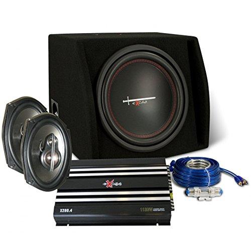 Pack Audio de Coche Excalibur X2Trunkp. Altavoces, Subwoofer, Etapa, Cables