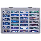 Adam Case Compatible with Hot Wheels Cars Gift Pack. Toy Cars Organizer Storage Container Holds Up to 27 Hotwheels Car. Display Carrying Holder with 4 Size of Slots (Box Only)