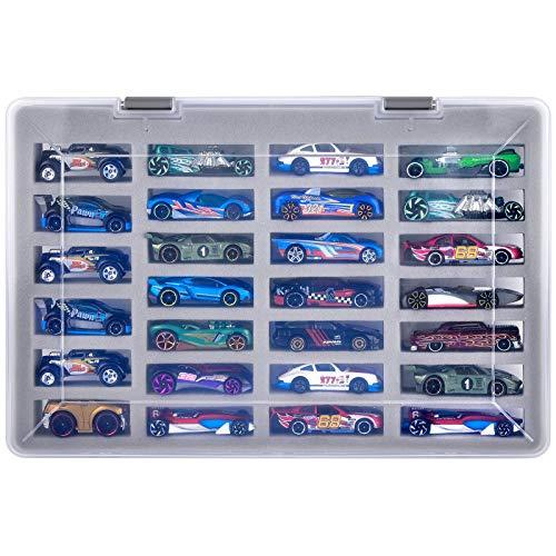 Spielzeugauto Hülle Tasche für Hot Wheels Hot Wheels 01806/54886 Pack 1:64 Die-Cast/Mattel / Fahrzeuge Geschenksetze, Organizer Aufbewahrungsbehälter Hält 27 Stück für Hotwheels Auto