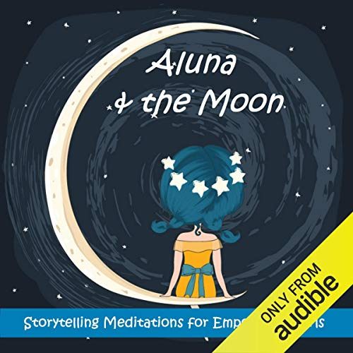 Aluna and the Moon audiobook cover art