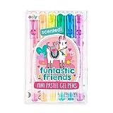 OOLY, Funtastic Friends, Mini bolígrafos de gel pastel perfumados, coloridos, juego de 6