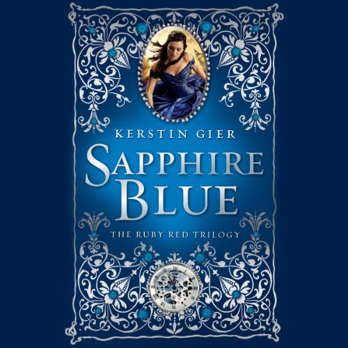 Sapphire Blue audiobook cover art