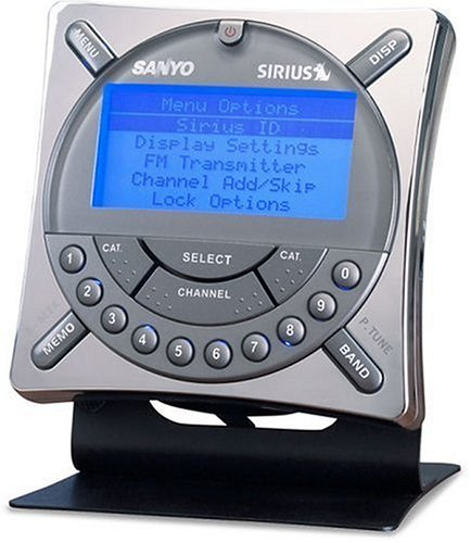 Price comparison product image Sanyo CRSR-10 Sirius Satellite Receiver with Car and Home Kit
