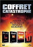 Coffret Catastrophe 4 DVD : Twister / Le Pic de Dante / Daylight / Backdraft