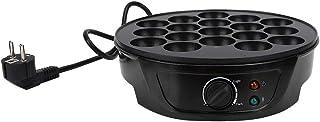 Machine de ménage antiadhésive Takoyaki Mini plat de cuisson électrique 18 moules ronds Machine à petit-déjeuner pour fair...