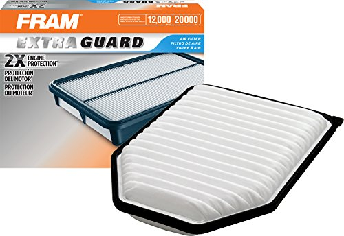 Fram Extra Guard Air Filter, CA10348 for Select Jeep Vehicles, 1 Filter