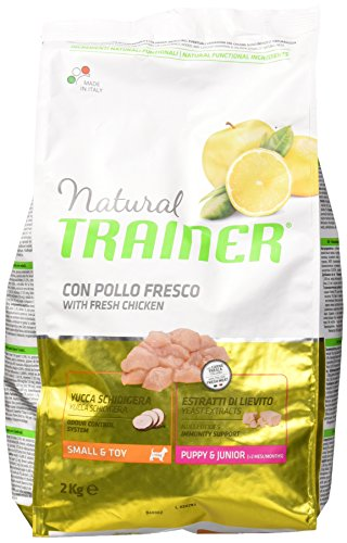 Trainer Natural Canine Puppy Junior Mini 2KG, Negro, 2 ✅