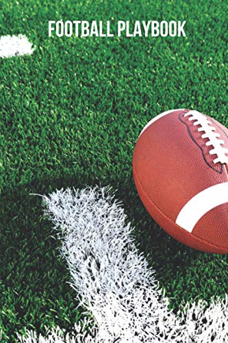 Football Training Playbook: Coach, Footballer Notebook, Diary, Record Book. Field Diagrams for Drawing Up Plays, Creating Drills, Scouting, Coaching, Training, Practice. Gridiron, Grid Game Plans.