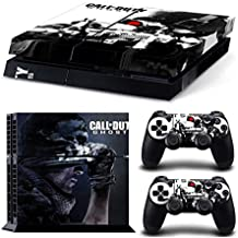 For Sony Playstation 4 PS4 Console Decal Skin Stickers with 2 Pcs Stickers For PS4 Controller