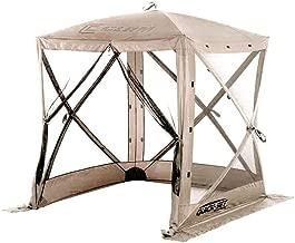 Quick Set Traveler Portable Camping Outdoor Gazebo Canopy Shelter, Tan