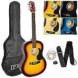 3rd Avenue Acoustic Guitar Pack - Sunburst