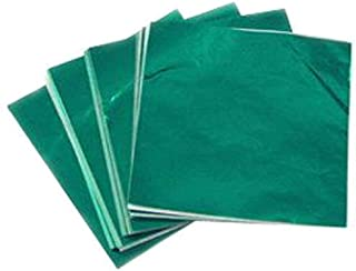 """3 X 3"""" Green Foil Candy Wrappers"""