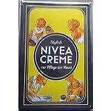 hotrodspirit – Platte Creme Nivea Deutsch 30 x 20 cm Deko