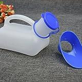 Tragbares Urinal, mobiles WC für Autofahrten und lange Reisen, Unisex-Urinflasche mit Handgriff -