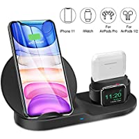 Ebeet 3 in 1 Wireless Charger for iPhone, AirPod/AirPod 2/ AirPods Pro