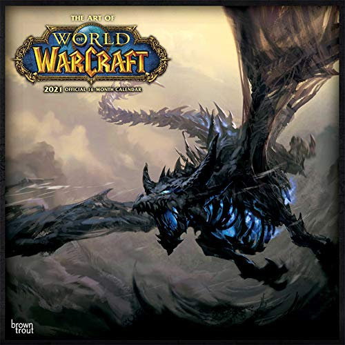 The Art of World of Warcraft 20201- 16-Monatskalender: Original BrownTrout-Kalender [Mehrsprachig] [Kalender] (Wall-Kalender)