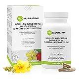 Pro Respiración * 303.75 mg / 120 cápsulas * Gordolobo, Acerola y N-acetil-cisteína * Antioxidantes, Inmunitario