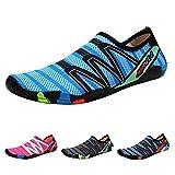 QIMAOO Chaussures de Plage Chaussures Sports Aquatique Unisexe Chaussons d'eau -...