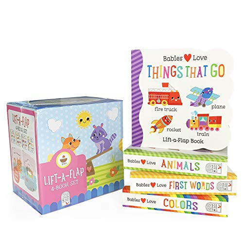 4 Pack Babies Love Learning Lift-a-Flap...
