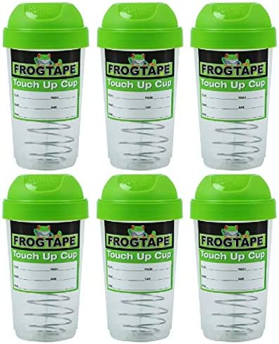 FrogTape 12 Regular store oz Paint Storage and Pack Touch 6 Cup Up Count Las Vegas Mall