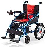 LJMGD Lightweight Wheelchair,Electric Wheelchair Open/Fold in 1 Second...