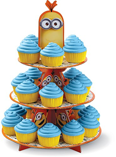 Wilton 1512-4600 Despicable Me Minions Treat Stand, Multicolor