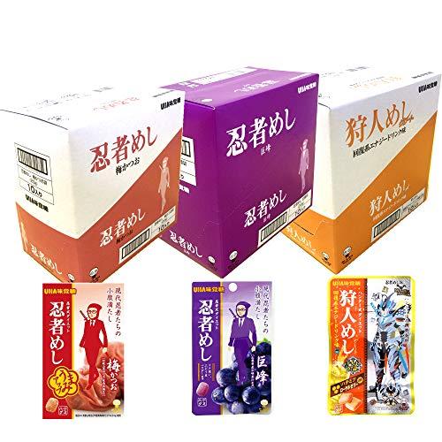 【Amazon.co.jp限定】 味覚糖 忍者めし アソート【BL】 3種計3箱入 ×3個