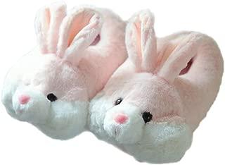 Women Plush Indoor Rabbit Slipper Super Soft Warm Winter Slippers
