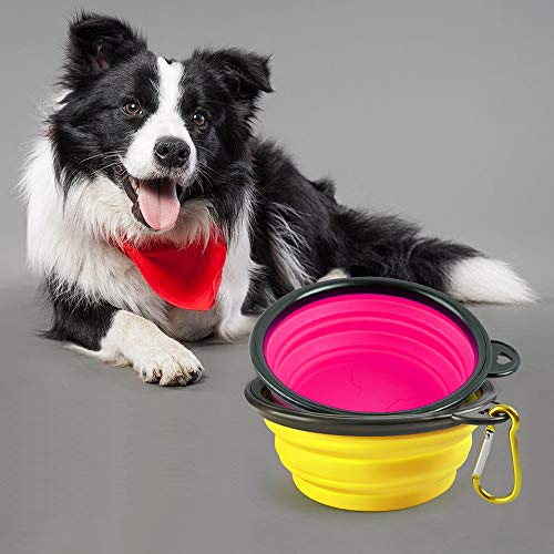 $3.90 2 pcs Travel Pet Bowls Use promo code: 70NKPA2Q Works on all options with a quantity limit of 1