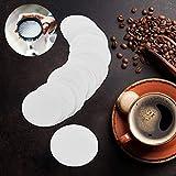Filtro profesional de repuesto para cafetera de té, para aeropress, natural, blanco