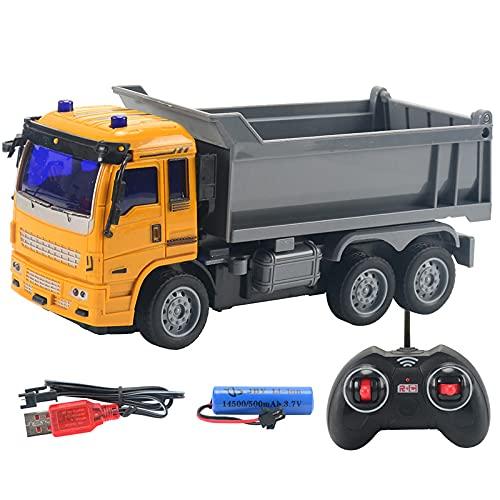 Excavadora RC Trucks Mini excavadora de control remoto 1:32 Ingeniería de plástico...