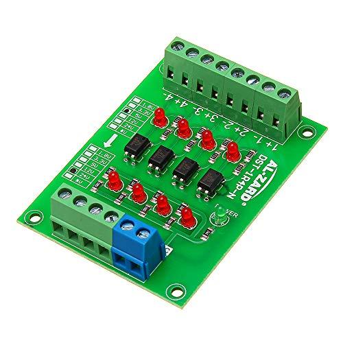 ILS - 5V tot 24V 4-kanaals opticooppler isolatie voorblad gescheiden module PLC signaalniveau spanningsomvormerkaart 4Bit