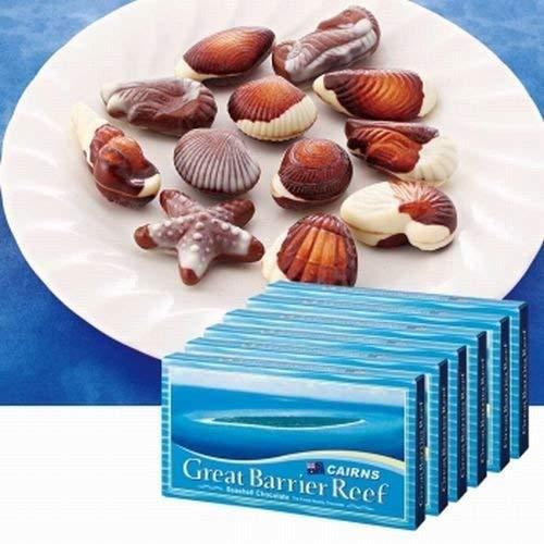 ケアンズ シーシェル チョコレート 6箱セット【オーストラリア おみやげ(お土産) 輸入食品 スイーツ】