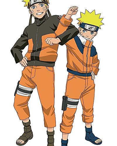 GOGOGK Juego de Pintura de Diamantes 5D DIY Naruto Uzumaki Naruto Anime Tema Sala de Estar/Dormitorio/Decoración de Pared Pintura Artes/Manualidades/Juguetes educativos Diamante Completo/CRI
