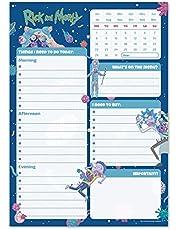 Erik - Rick & Morty Official - A5 Desk Pad met dagelijkse, wekelijkse en maandelijkse kalender