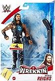 HP UK WWE WREKKIN – Romanos reinados – Figura de acción completa con accesorio de naufragio, aproximadamente 6 pulgadas
