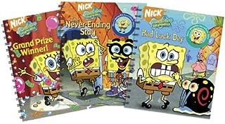 Story Reader SpongeBob 3 Pack Bad Luck/Never Ending/Grand Prize