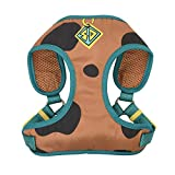Scooby-Doo Warner Brothers Dog Harness | Soft and Comfortable Small Dog Harness Dog Harness No Pull Tan and Blue Dog Harness | Cute Dog Harnesses for Small Dogs (FF13498)