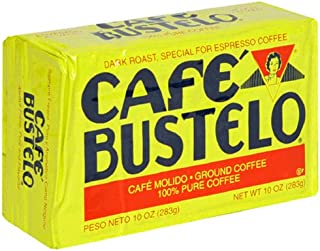 Cafà Bustelo Coffee Espresso, 10 Ounce (Pack of 4)