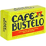 Cafà Bustelo Coffee Espresso, 10 Ounce (Pack of 4)