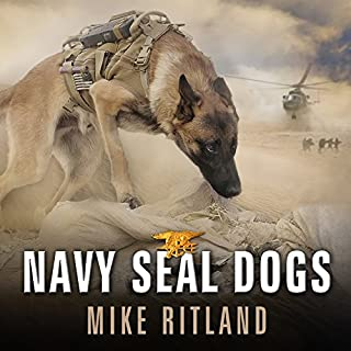Navy SEAL Dogs audiobook cover art