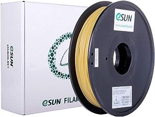 eSUN 水溶性PVA 3Dプリンターフィラメント、PVA 寸法精度+/-0.05mm、2.85mm径 3Dプリンター用 正味量0.5KG (1.1LBS) スプール造形材料PVA樹脂材料 (ナチュラル)