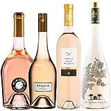 Best of Provence - Lot de 4 bouteilles - Miraval : Studio/Jolie-Pitt - Château Sainte Marguerite : Fantastique/Cru Classé - Côtes de Provence Rosé 2019 (4 * 75cl)