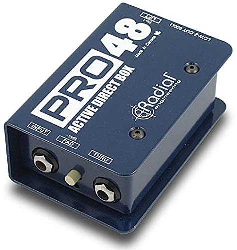 Radial Pro48 Active 48-Volt Compact Direct Box
