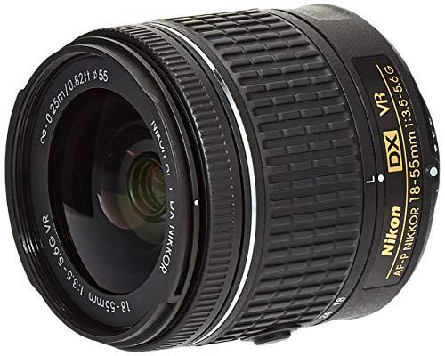 Nikon AF-P DX NIKKOR 18-55mm f/3.5-5.6G VR SLR Negro - Objetivo (SLR, 12/9, 0,25 m, Automático/Manual, 18-55 mm, 28,86°)