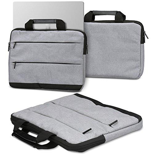 Laptoptasche Sleevehülle für Trekstor Surfbook W1 W2 Notebook Tasche Schutzhülle Laptop Case mit Innentaschen in Grau, Farbe:Grau