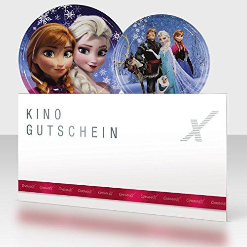 Cinemaxx Die Eiskönigin Filmdose Blau Single mit 1 Kinogutschein