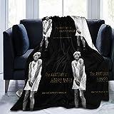 Rockfeeltee Flannel Fleece Blanket Julius Henry Groucho Marx Plush Microfiber Fuzzy Blanket